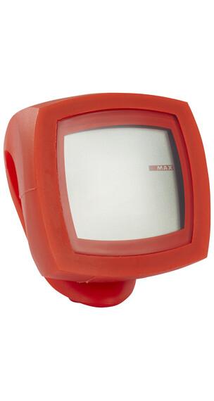 Knog Nerd 12 - Ciclocomputadores inalámbricos - rojo